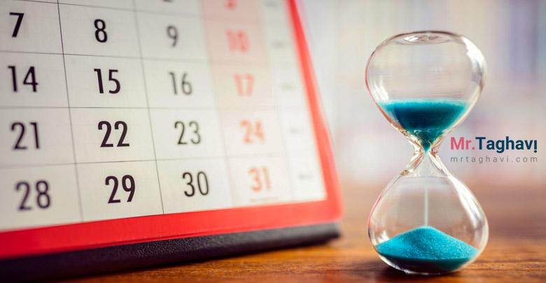 زمان بندی و افزایش فروش محصولات