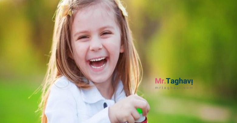 خندیدن و شادی رمز در حال زندگی کردن