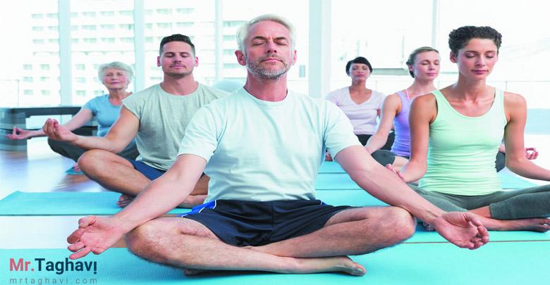 یوگا و افزایش آرامش ذهن و روح